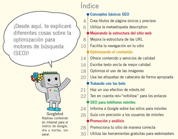 Google ha elaborado una sencilla guía para principiantes en optimización orientada para mejorar el posicionamiento natural (SEO)