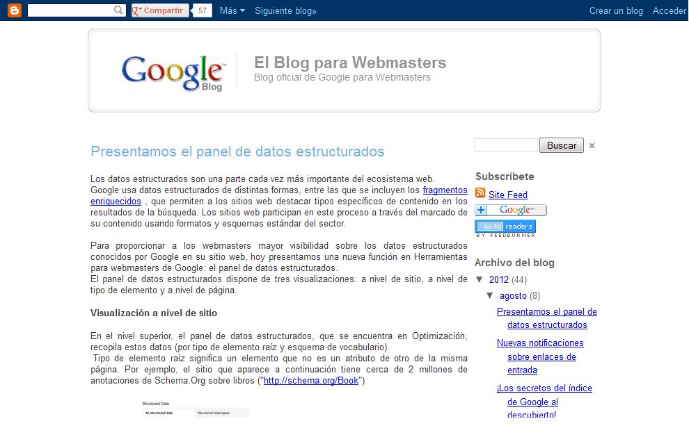 Indicaciones de los Ingenieros de Google sobre el posicionamiento en Google