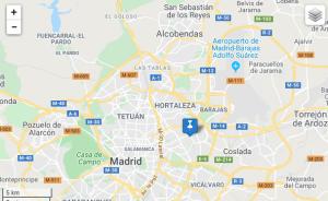 Mapa TREI Agencia SEO Madrid